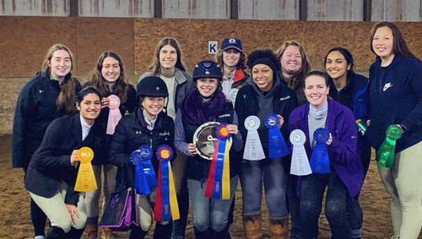 Fourth Annual Competition (Equestrian Team) Image