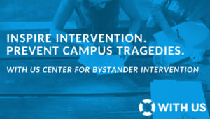 WITH US Center for Bystander Intervention