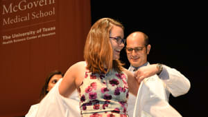 2021 McGovern Medical School White Coat Sponsorship Campaign