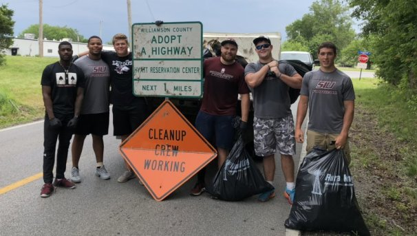 2nd Annual Saluki Football Southern Illinois Clean Up Image