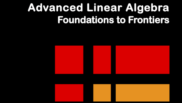 Help Advance the World with Advanced Linear Algebra