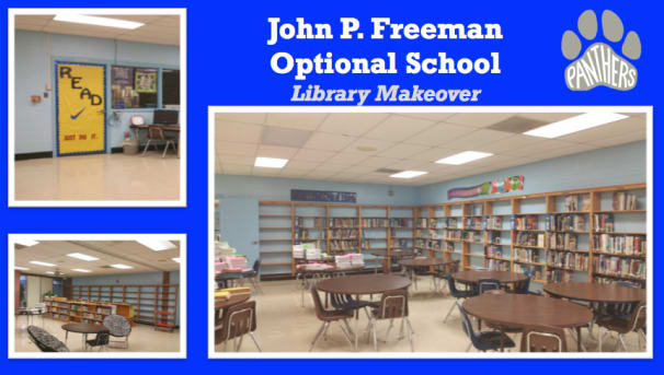 John P. Freeman Library Makeover Image