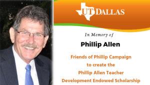 Phillip Allen Teacher Development Scholarship