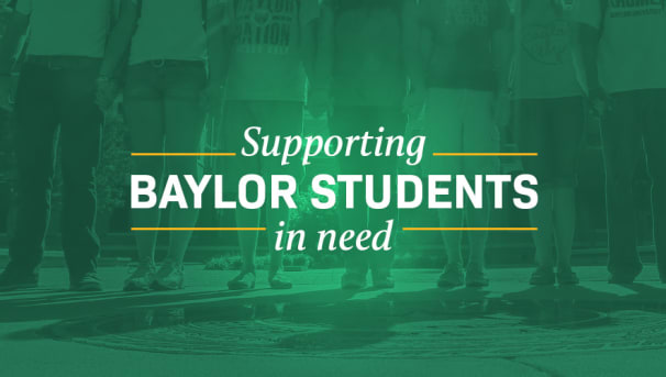 Support Emergency Funding for Baylor Students Image