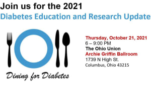 """The """"Dining for Diabetes"""" Education and Research Update"""