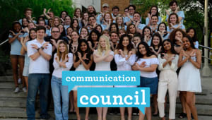 Communication Council Study Abroad Scholarship