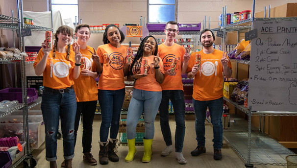 Join the Fight Against COVID-19 Food Insecurity on Campus Image