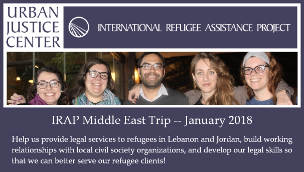 IRAP Middle East Trip Image