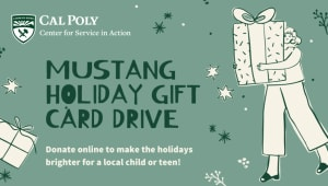 Support the Mustang Holiday Gift Drive!