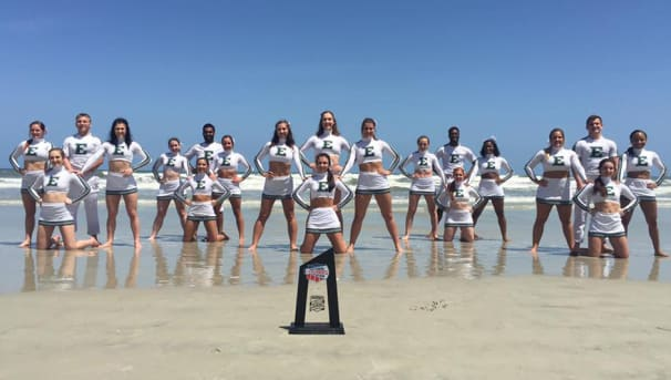 EMU Cheerleading Image