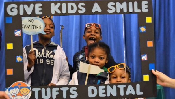 Give Kids a Smile at Tufts Dental Image