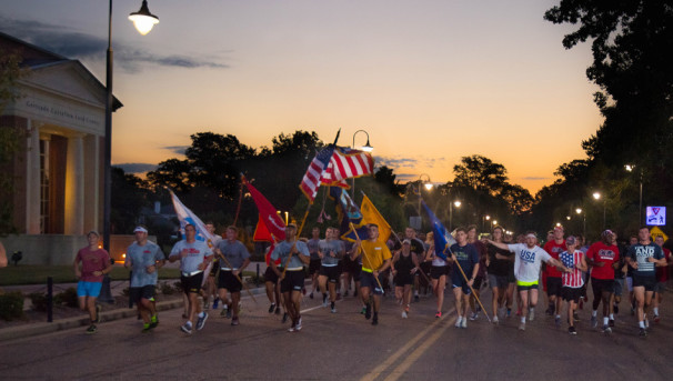 Army ROTC Egg Bowl Run Image
