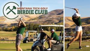 Montana Tech Golf Birdie Club
