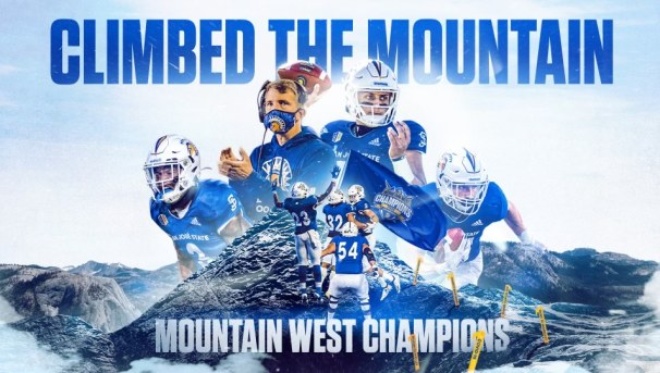 Spartan Football - Mountain West Champions Image