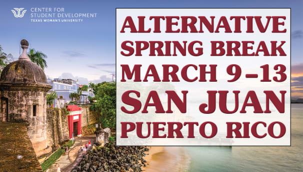 Alternative Spring Break in Puerto Rico Image