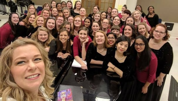 Concert Choir Travels to San Antonio Image