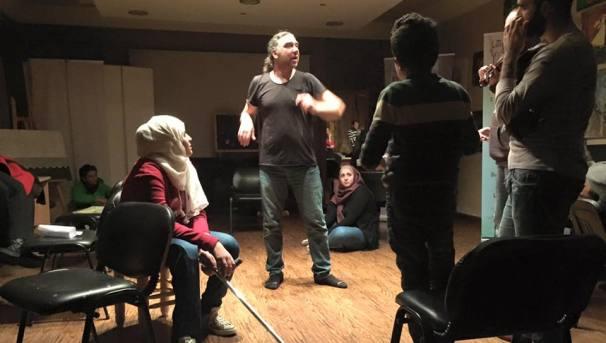 Researching Theatre in Zaatari Refugee Camp Image