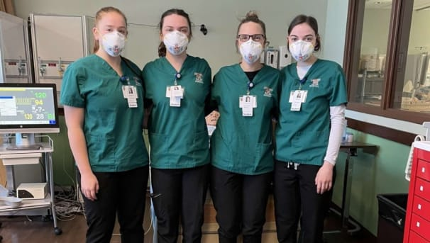Montana Tech Student Nurses Association Members