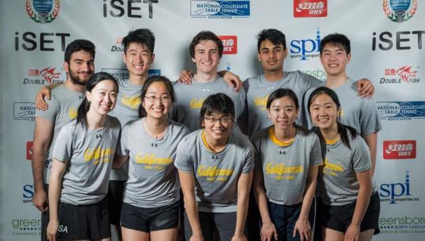 Cal Table Tennis | Road to 2020 NCTTA Nationals Image