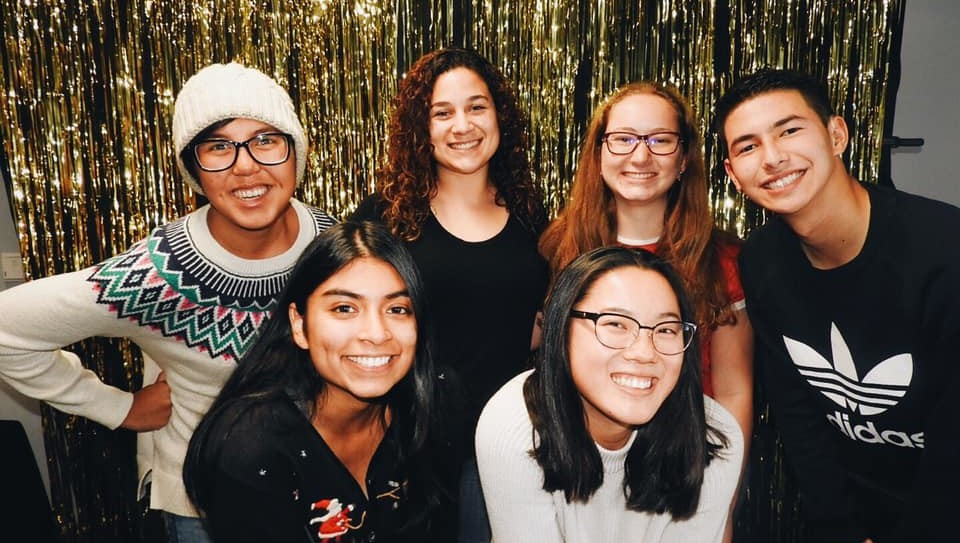Image from Deaf CSUNians and Deaf Studies Association Holiday Party