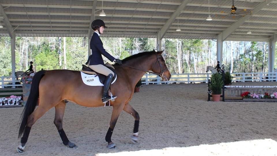 Grace riding @ Tournament of Champions