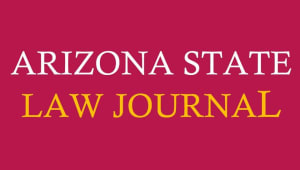 Arizona State Law Journal Sun Devil Giving Day