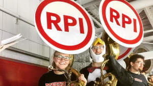RPI Pep Band: A New Sousaphone