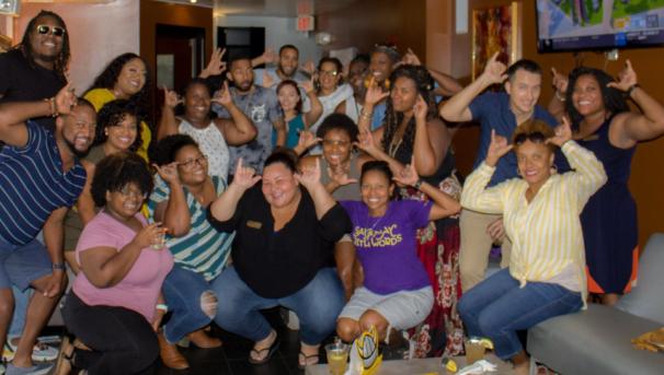 Black Alumni Happy Hour event in Louisville