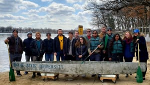 2019 ASCE Concrete Canoe Team