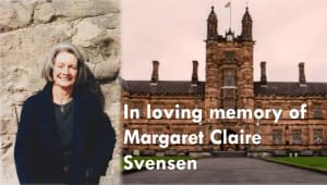 In loving memory of Margaret Claire Svensen