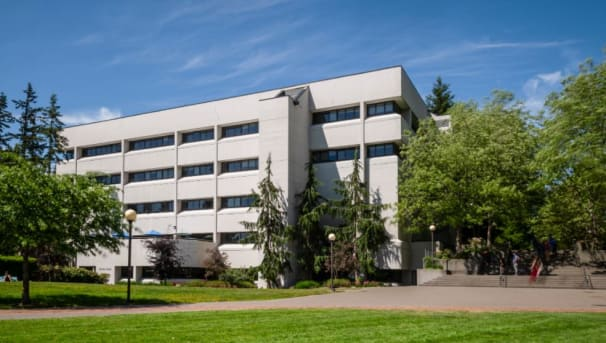 WWU's Parks Hall - College of Business & Economics