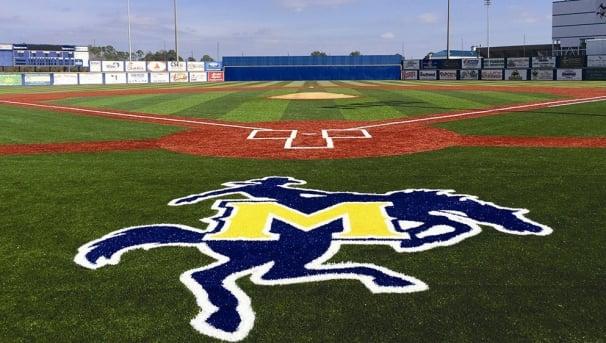 Baseball Blue Wall Project Image