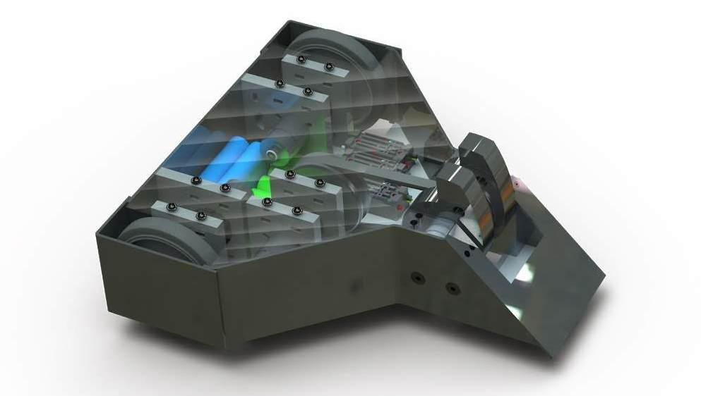 30lb Combat Robot CAD Model