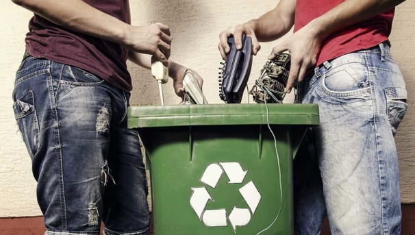 Battery and Electronic Recycling Image