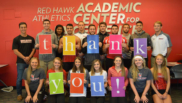 Red Hawk Athletic Fund Image