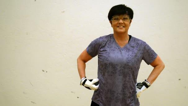 Announcing the LeaAnn Martin Handball Court! Image