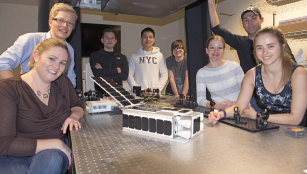 MIT KitCube Lunar Orbiter Image