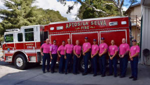 Aptos Fire Department Cancer Awareness
