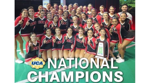 UNLV Cheer Strives For Virtual National Championships