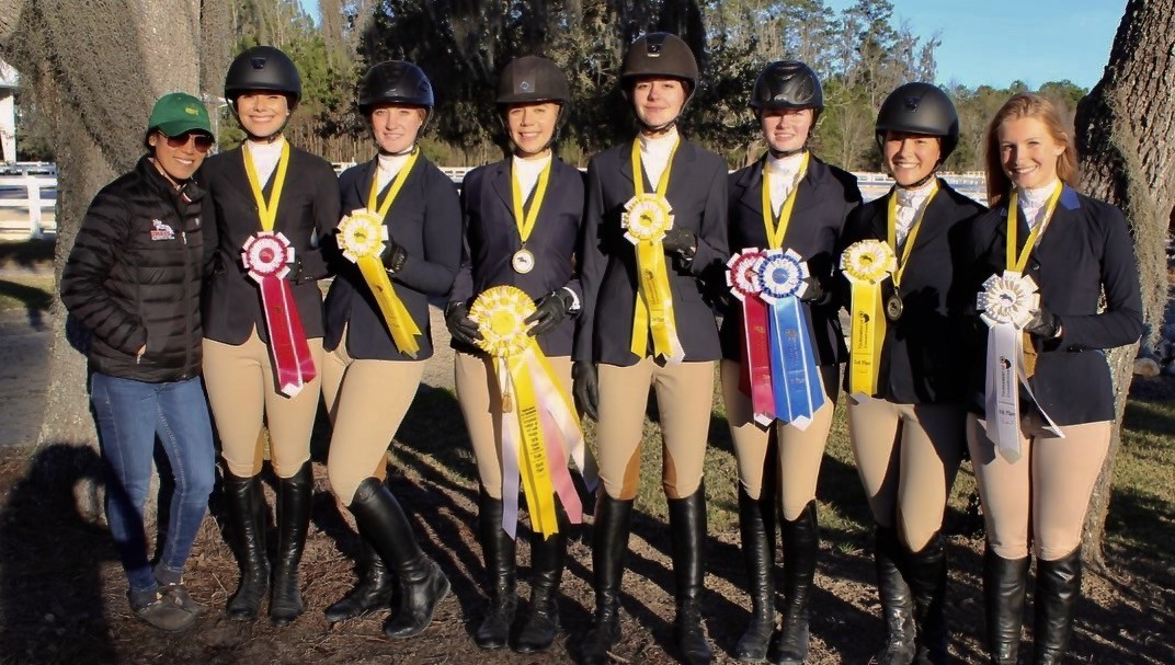 Team earning 3rd overall at Tournament of Champions @ SCAD