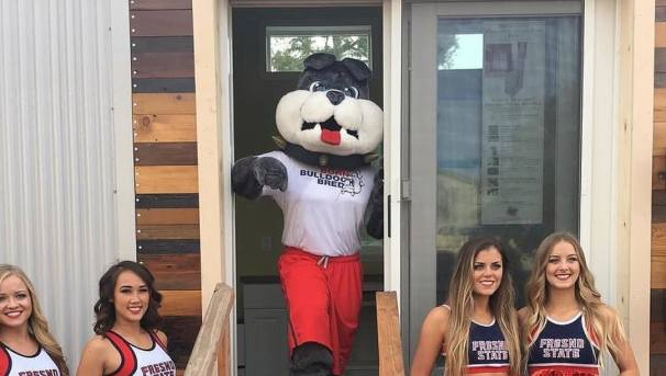 Fresno State Tiny House - Grand Opening