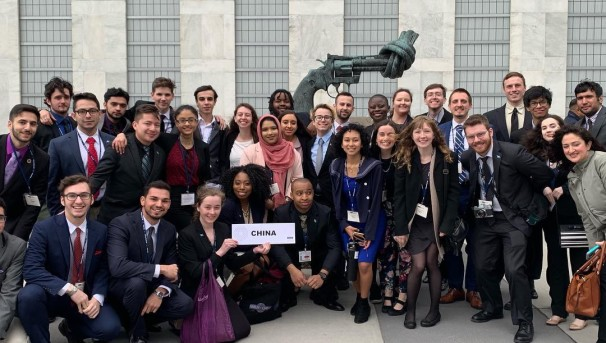 Model United Nations Spring 2021 Conference Image
