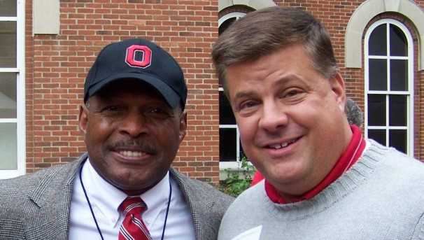 Photo of Scott Gale and Archie Griffin