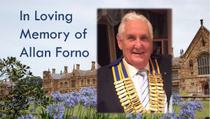 In loving memory of Allan Forno