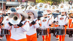 Help the Cowboy Marching Band Keep Their Sound