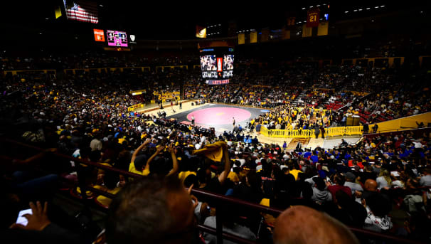 Sun Devil Wrestling Matching Gift Campaign Image