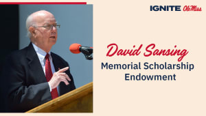 David G. Sansing Excellence in History Scholarship Endowment