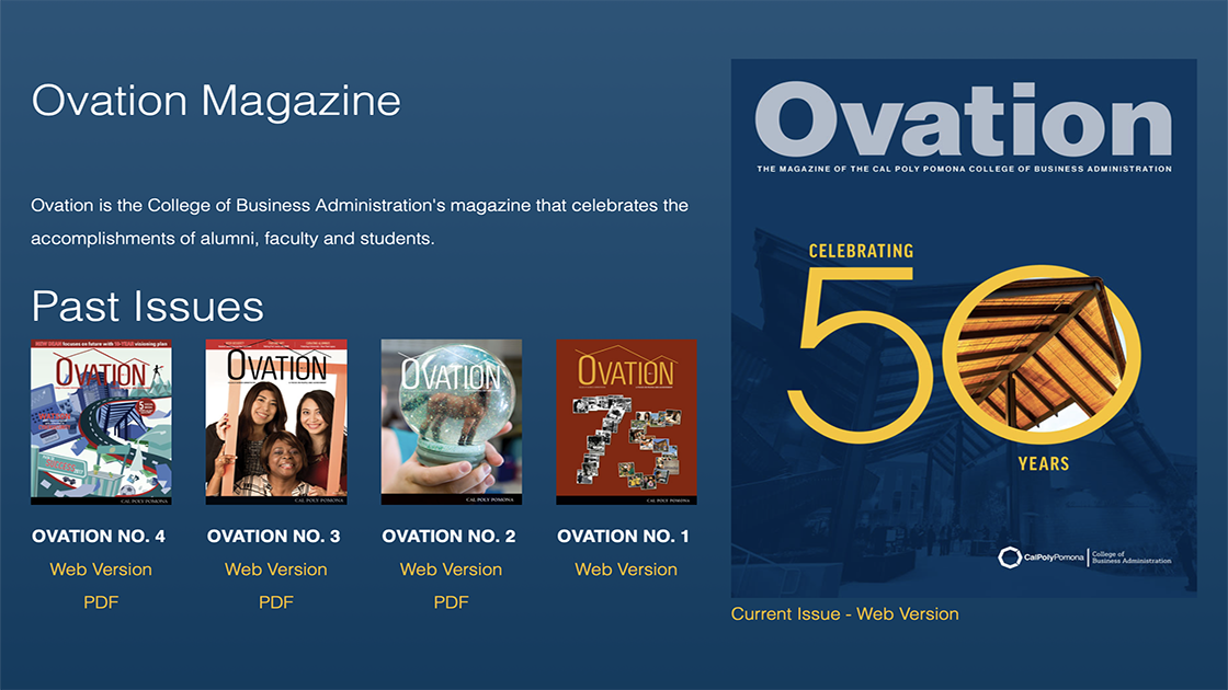 Ovation Magazine