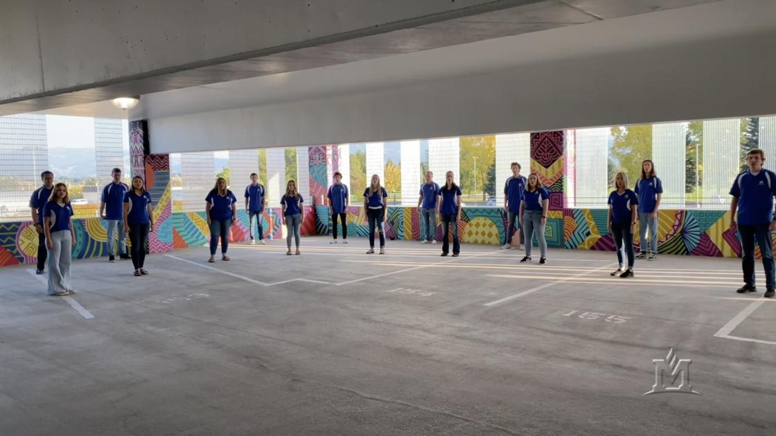 Montanans Perform in MSU Parking Garage