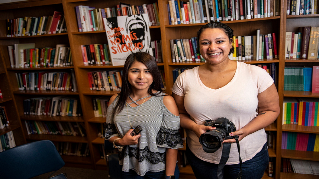 Maria Aristeo and Vivian Meade, Class of 2020, Summer Research 2018
